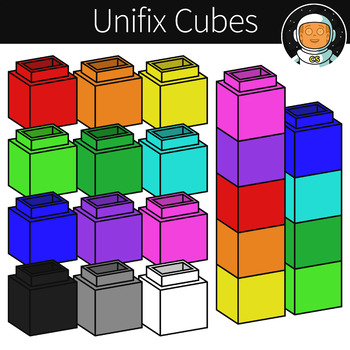 Cube clipart unifex. Unifix worksheets teaching resources