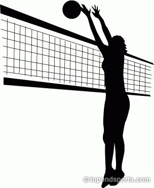 best images on. Block clipart volleyball