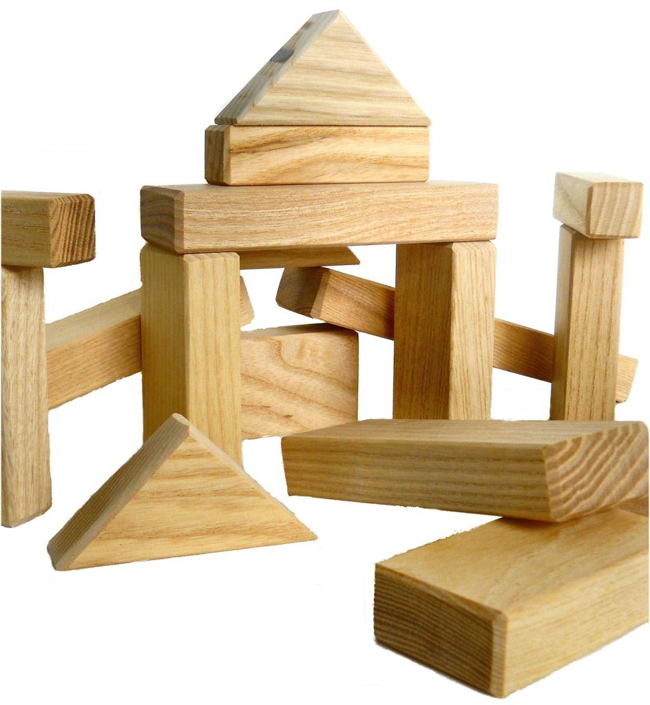 Wooden blocks natural building. Block clipart wood block