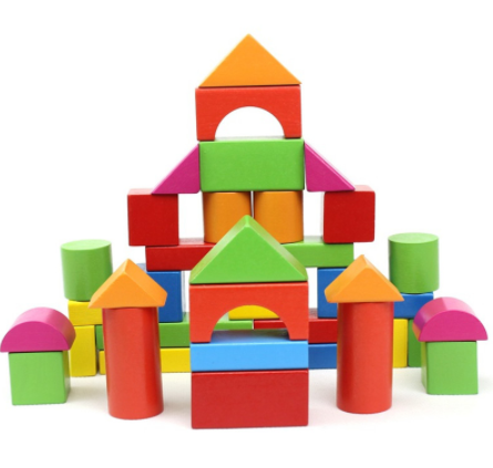 Buy kids building construction. Blocks clipart wooden block