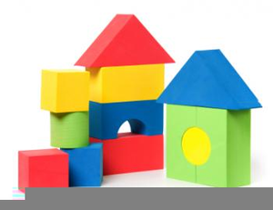 Blocks clipart. Childrens building free images