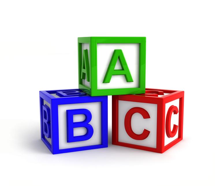 Block clipart abc. Image of blocks clipartoons