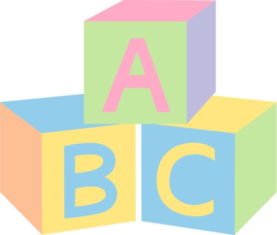 best abc s. Blocks clipart abcd