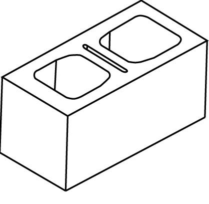 Block clipart cinder block. Structural concrete casey breaker