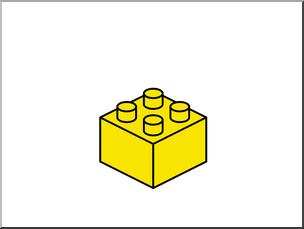 Blocks clipart clip art. Lego building free yellow