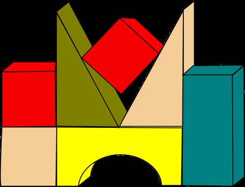 Building drawing at getdrawings. Blocks clipart colored block