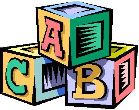 Blocks clipart daycare. Beginner steps llc
