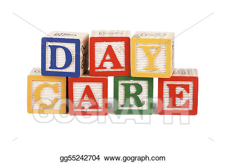 Stock photography alphabet isolated. Blocks clipart daycare