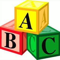 Blocks clipart daycare. L a center child