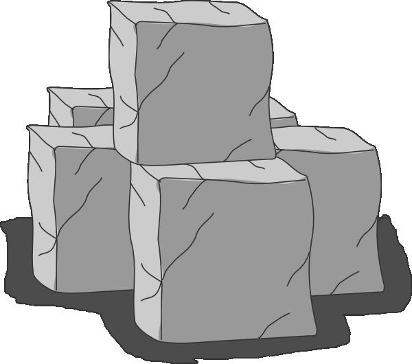 Clipart rock stone. Blocks clip art at