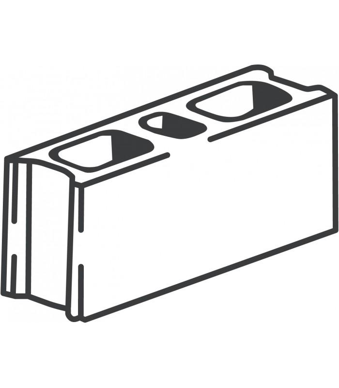 Blocks clipart hollow block. N js tetrastructure