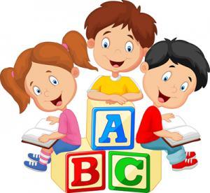 Ready for preschool program. Block clipart kindergarten