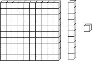 Blocks clipart one. Base black and white