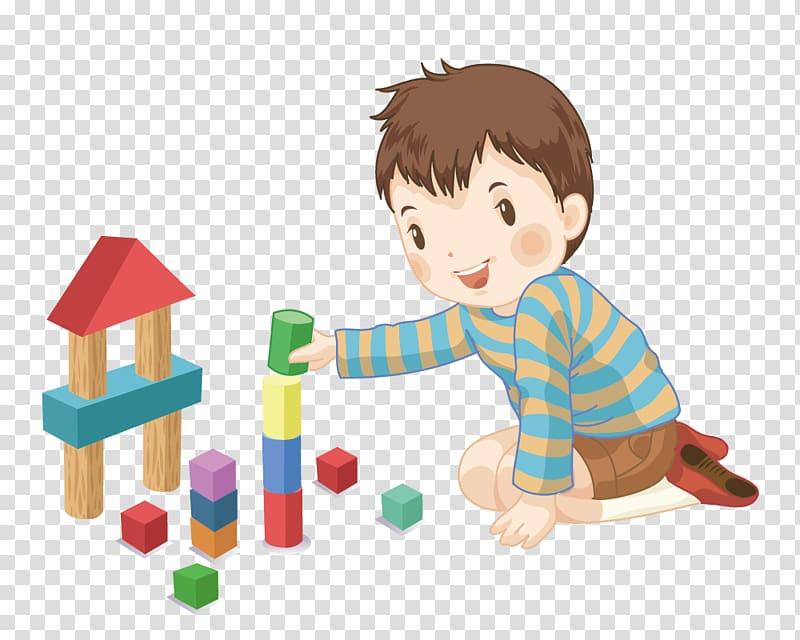 Toddler clipart block area, Toddler block area Transparent ...