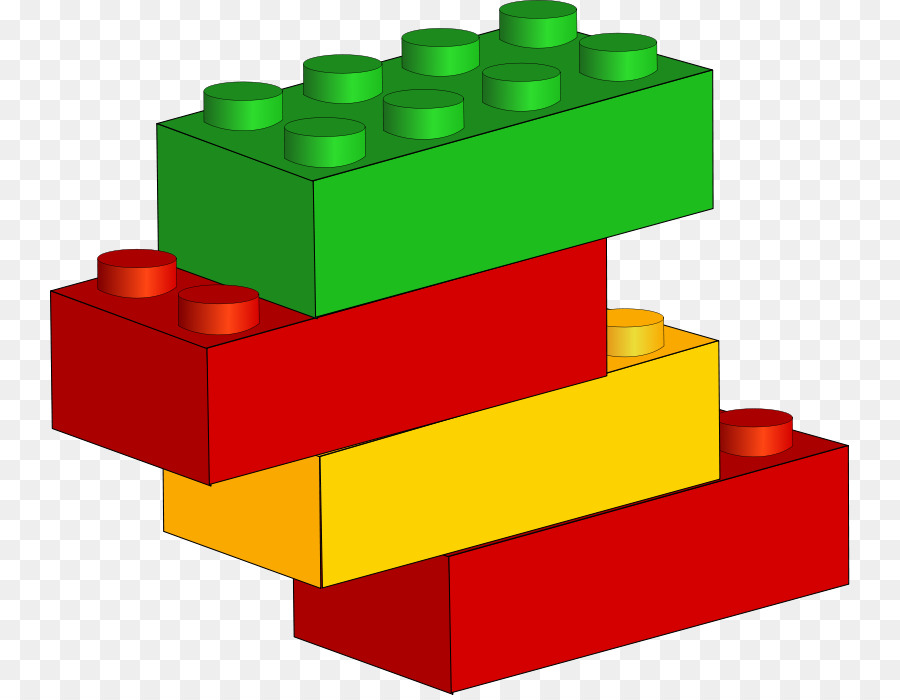 Blocks clipart rectangle. Lego toy block free