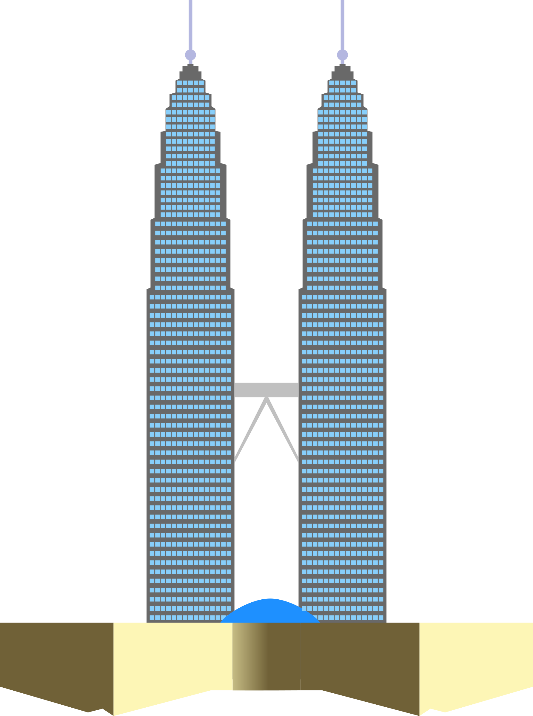 Tower clipart office tower. Petronas twin towers big