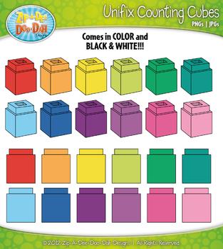 Cube teaching resources teachers. Block clipart unifix