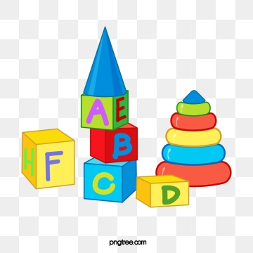 Abc png psd and. Blocks clipart vector