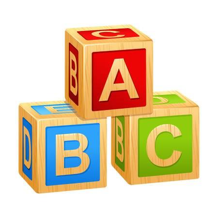 Block clipart abc. Alphabet blocks station
