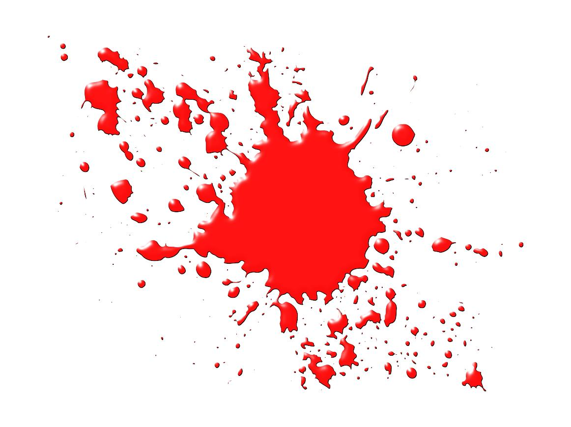 Design droide. Blood clipart