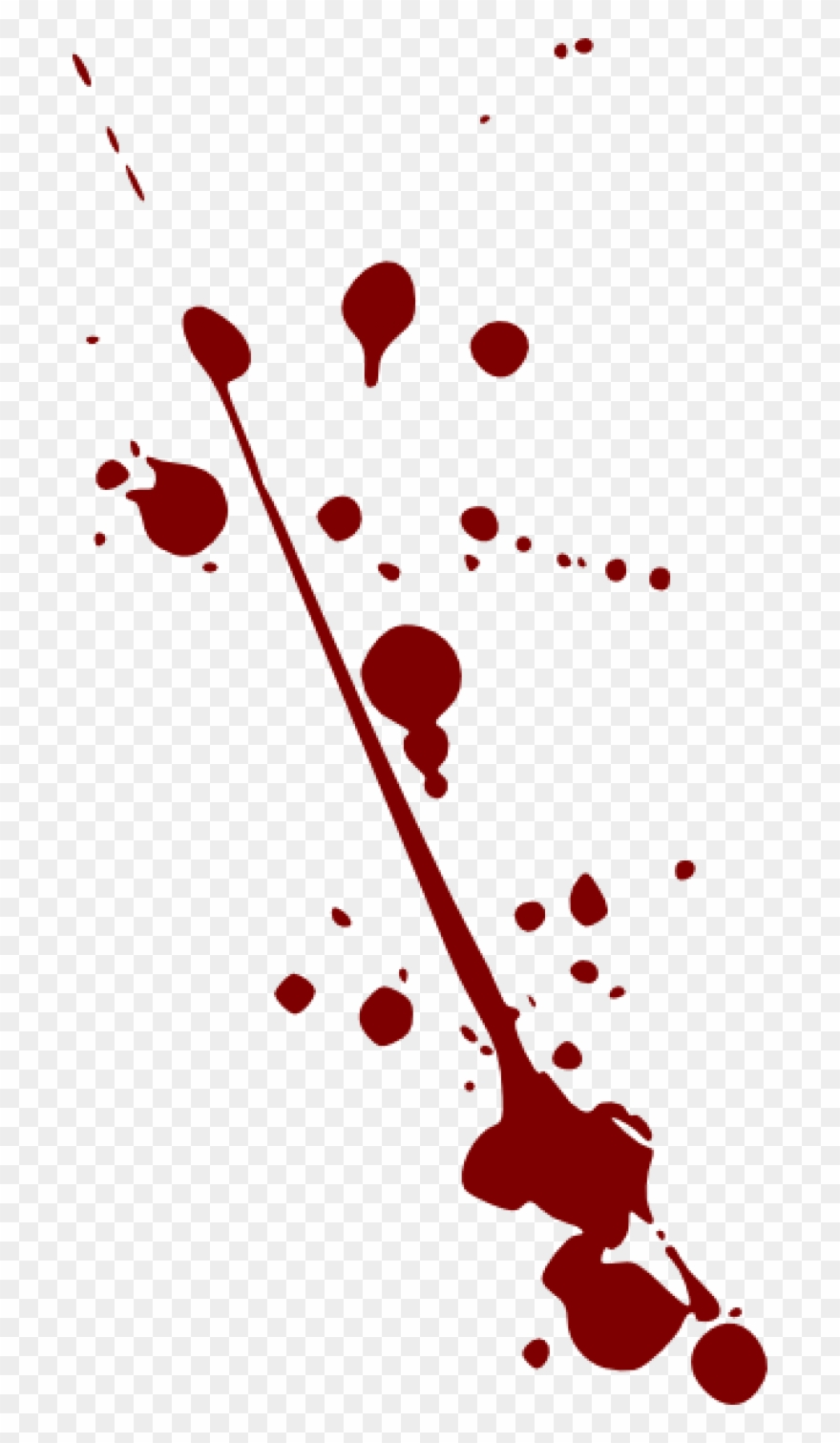 Splatter clip art at. Blood clipart