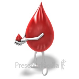 Dripping . Blood clipart animated