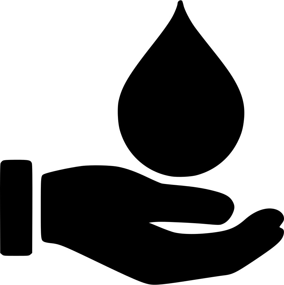 Donation svg png icon. Blood clipart black and white