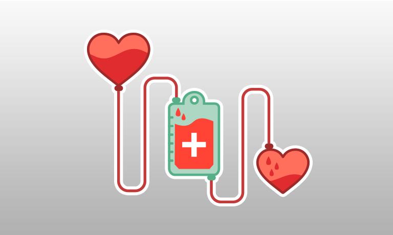 Blood clipart blood bag. Donation