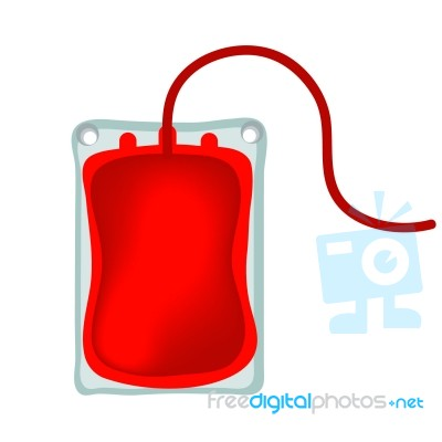 Stock image royalty free. Blood clipart blood bag