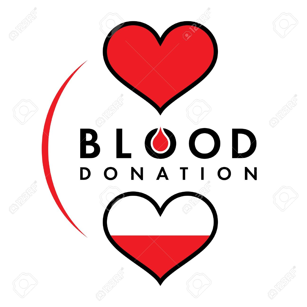 Blood clipart blood bank. Drop donation panda free