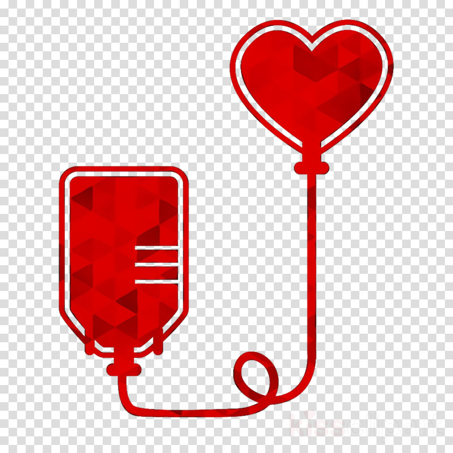 World day red heart. Blood clipart blood donation