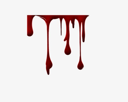 Dripping red bloody png. Blood clipart blood drip