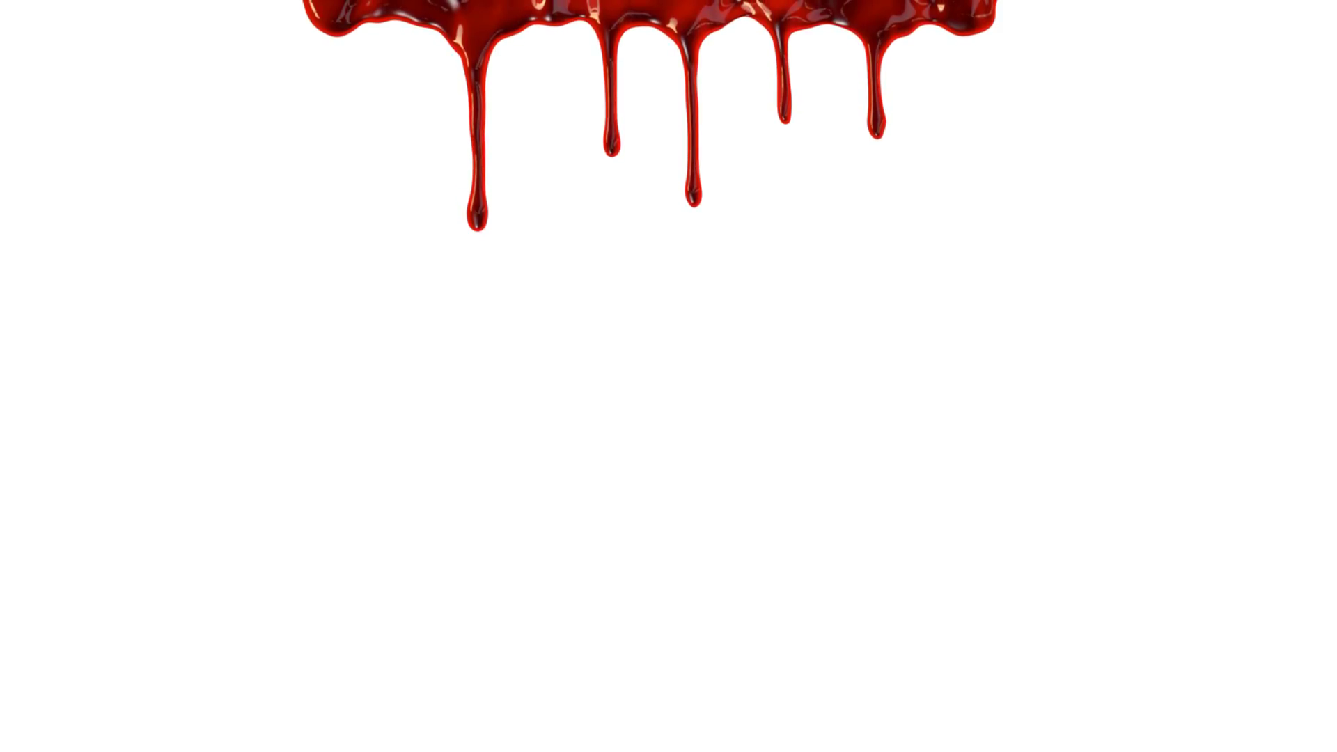 Blood clipart blood drip. Dripping down over white