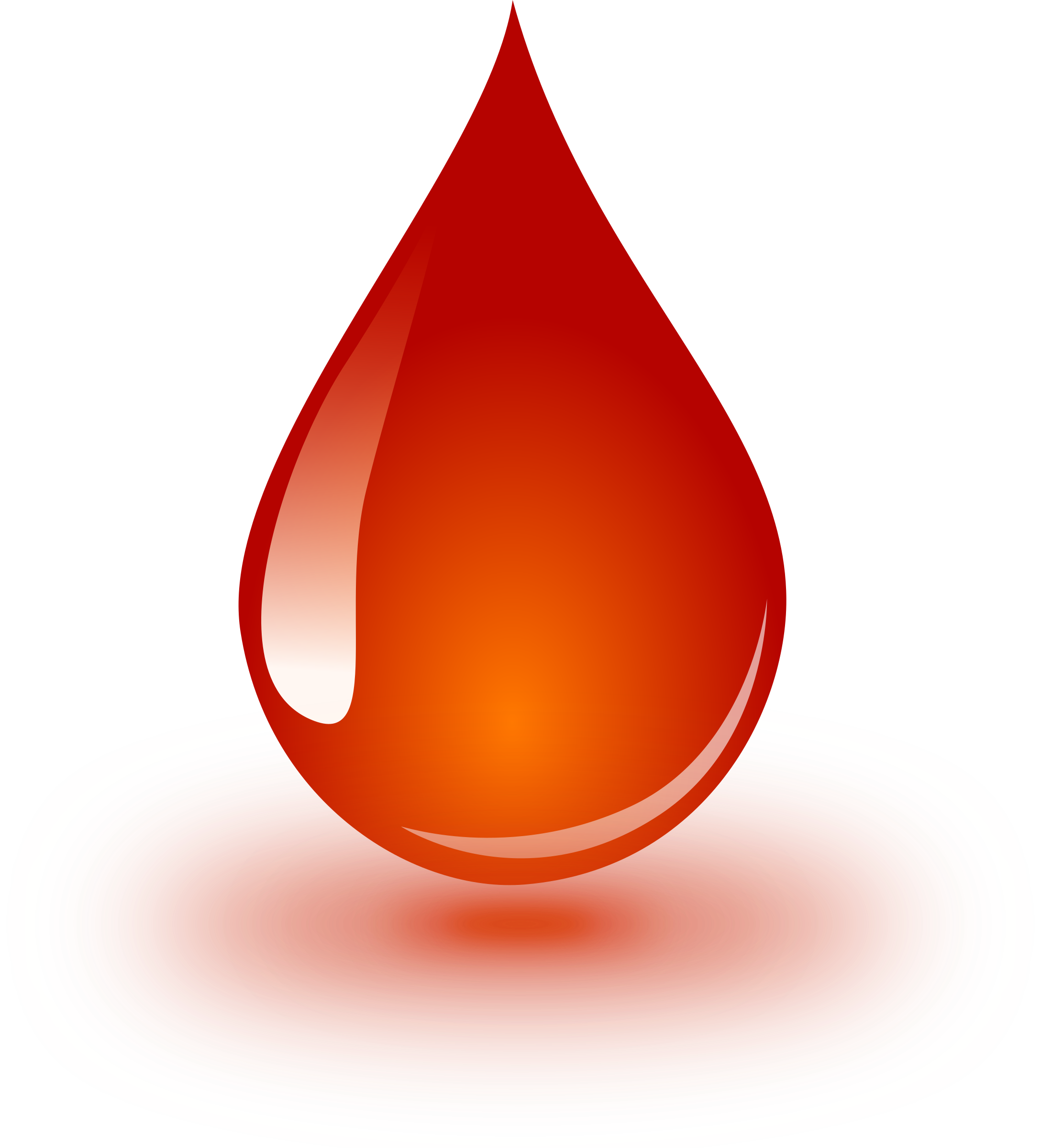 Drop big image png. Blood clipart blood droplet