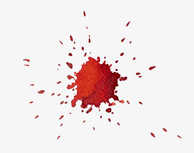 Drop of sheet red. Blood clipart blood spill