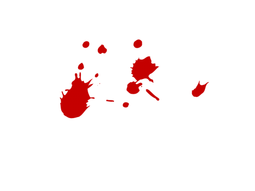 Blood clipart blood splat. Splatter thirteen isolated stock
