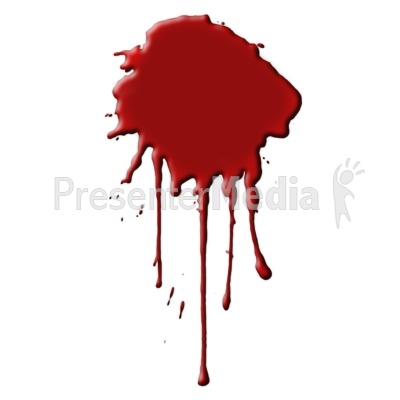 Blood clipart blood splat. A runny presentation great