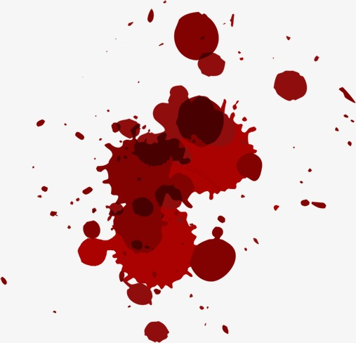 Blood clipart blood stain. Bloodstain stains png image
