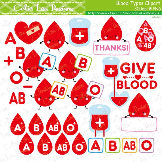 Blood clipart blood typing. Type give clip art