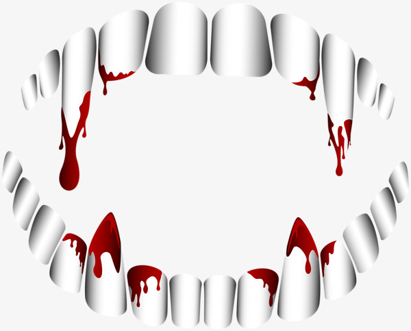 Blood clipart bloody. Teeth tooth halloween png