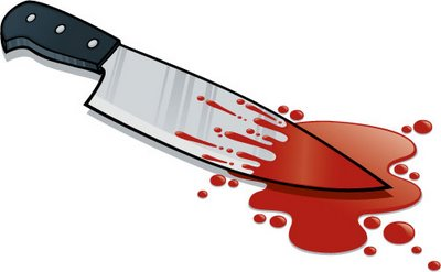 Knife drawing at getdrawings. Blood clipart bloody