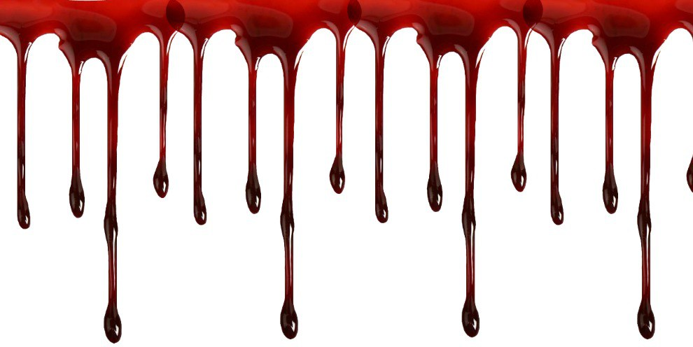 Looking for great horror. Blood clipart border