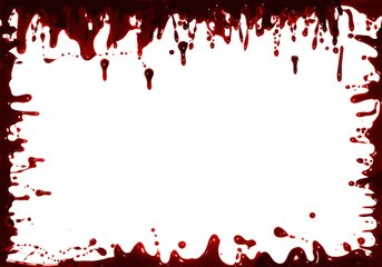 Blood clipart border. Free frames images pictures