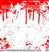 Blood clipart border. Royalty free stock halloween