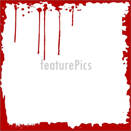 other images source. Blood clipart border