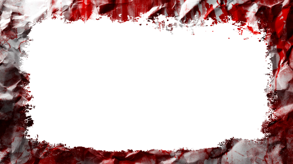 Blood clipart border. Bloody frame transprent use