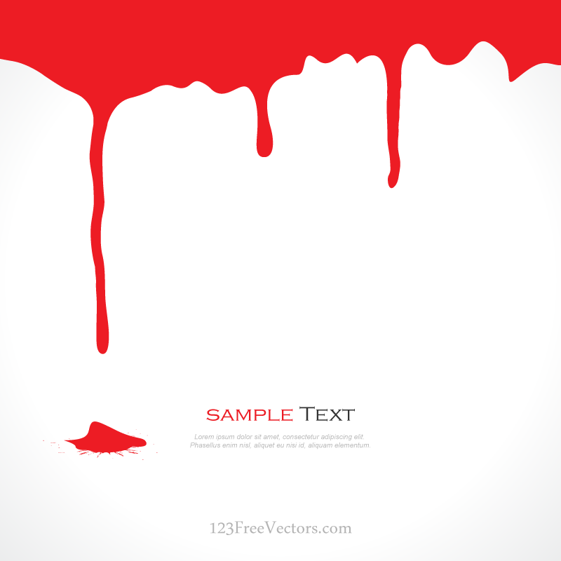 Dripping clip art library. Blood clipart border
