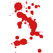Blood clipart border. Splatter collection red and