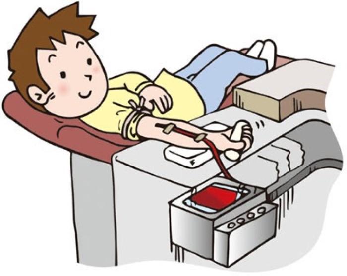 Donation station . Blood clipart cartoon