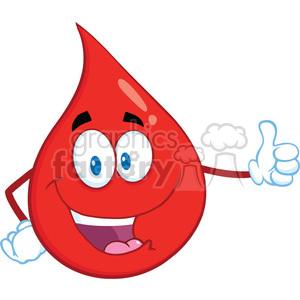 Blood clipart cartoon. Royalty free rf illustration